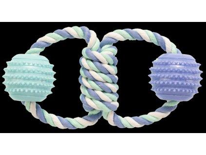 21126 hracka gimborn lano bavlna tpr kolesa 21cm