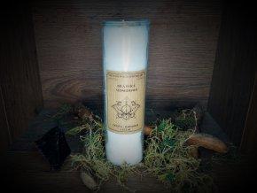 Sedmidenní svíce bílá