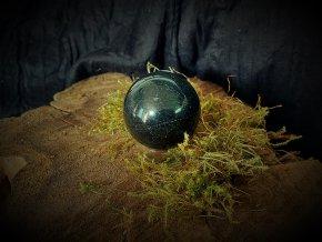 Koule s podstavcem - obsidián