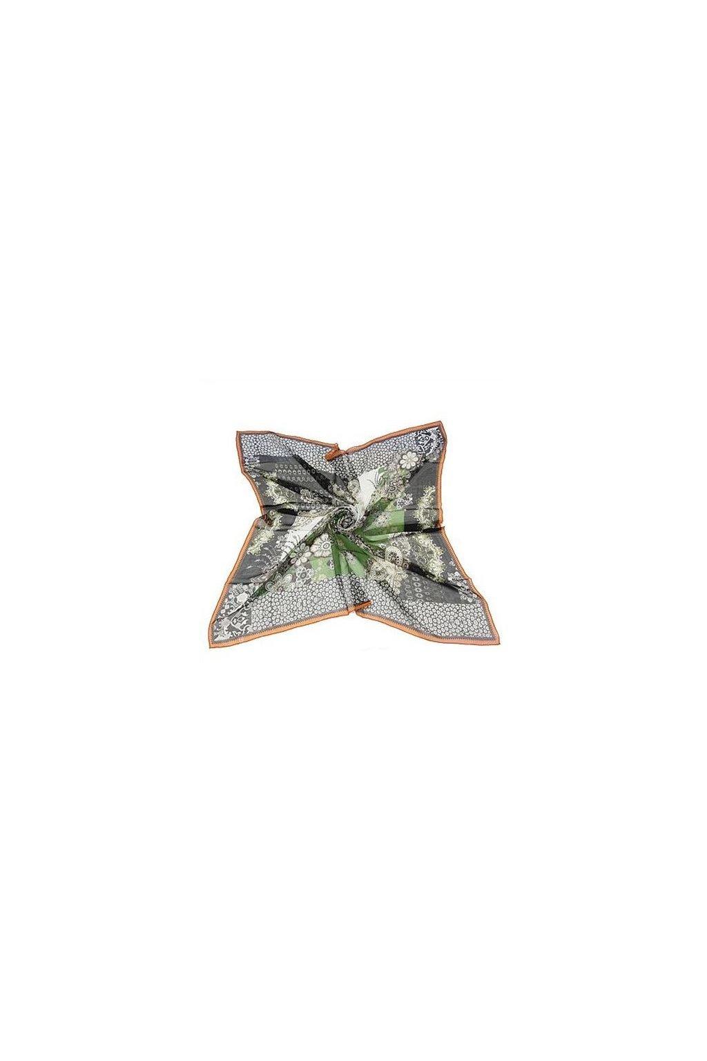 Šátek z hedvábí velký SCV00301