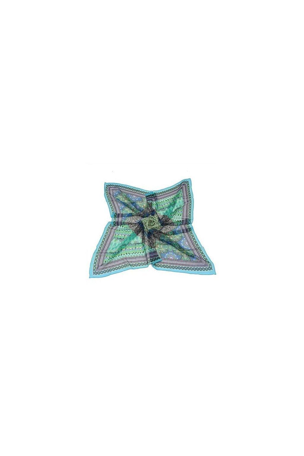Šátek z hedvábí velký SCV00401
