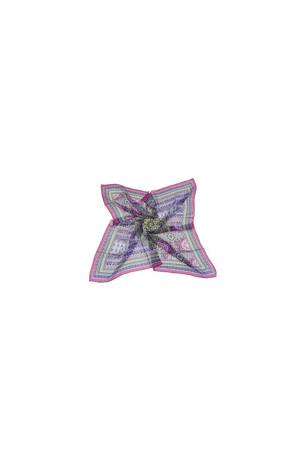 Šátek z hedvábí velký SCV00402
