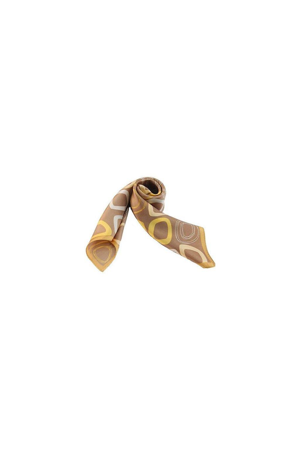 Šátek z hedvábí malý SCM11604