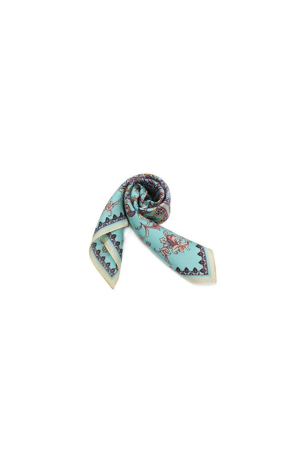 Šátek z hedvábí malý SCM14404