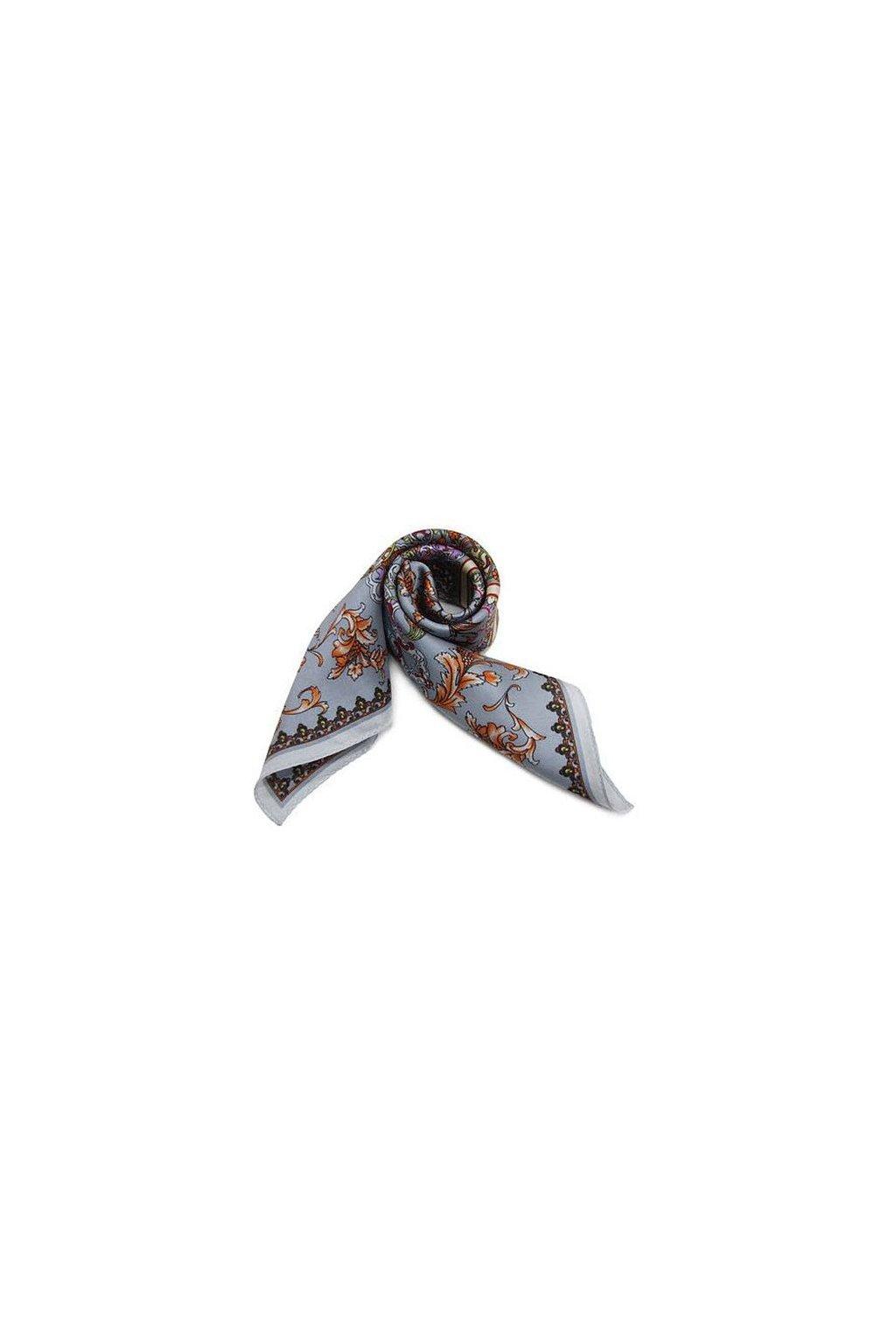 Šátek z hedvábí malý SCM14406