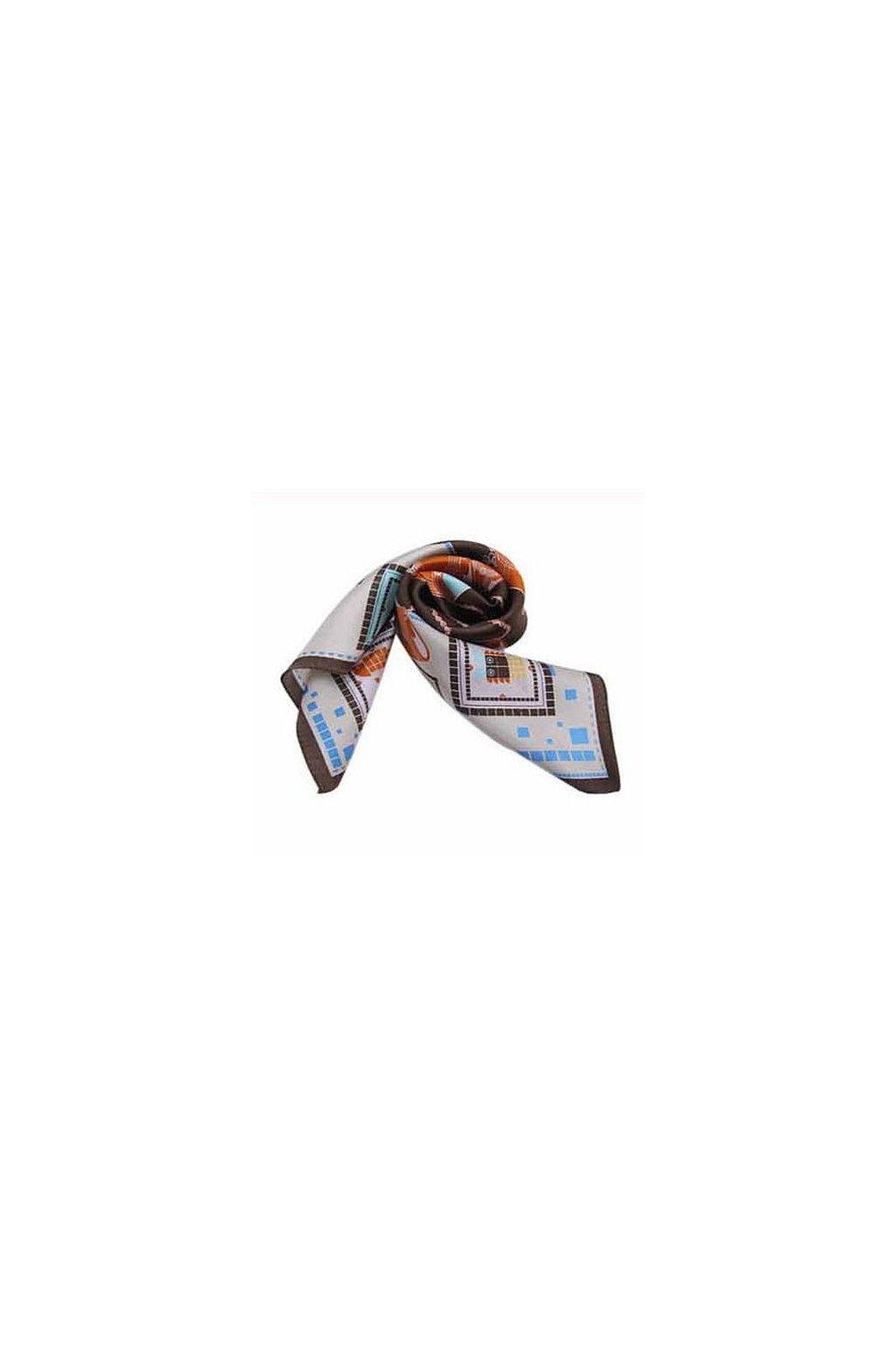 Šátek z hedvábí malý SCM14502