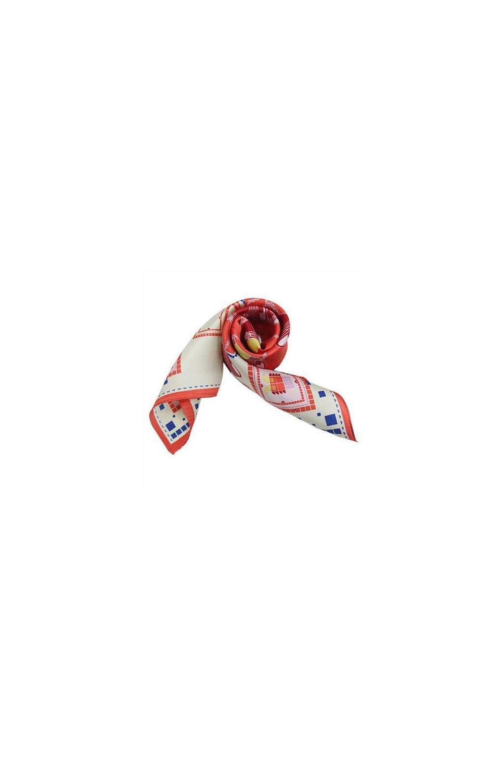 Šátek z hedvábí malý SCM14503