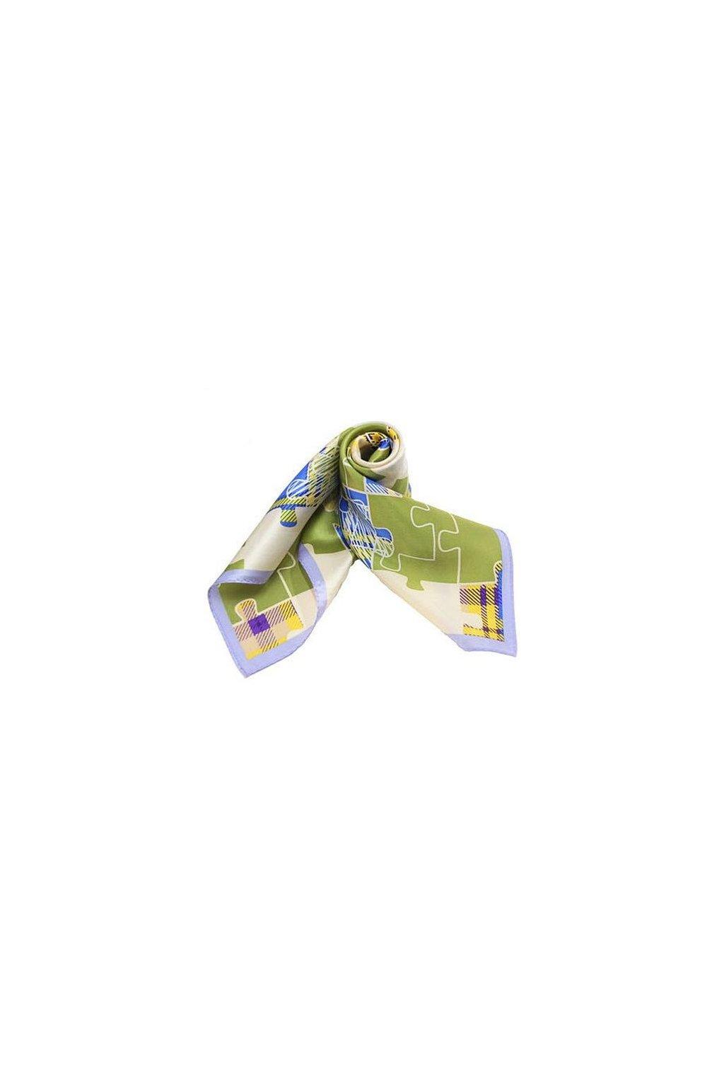 Šátek z hedvábí malý SCM15203
