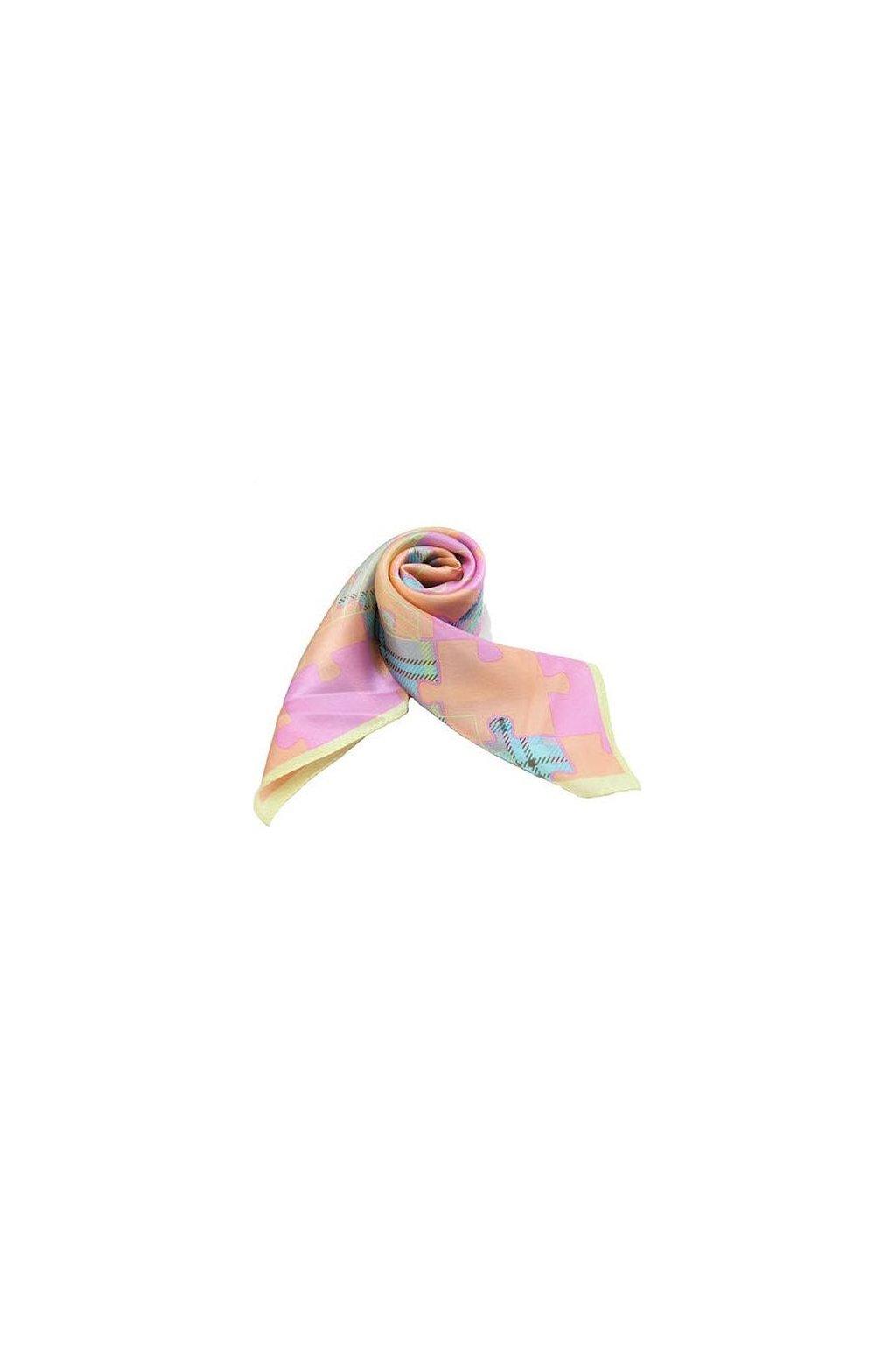Šátek z hedvábí malý SCM15204