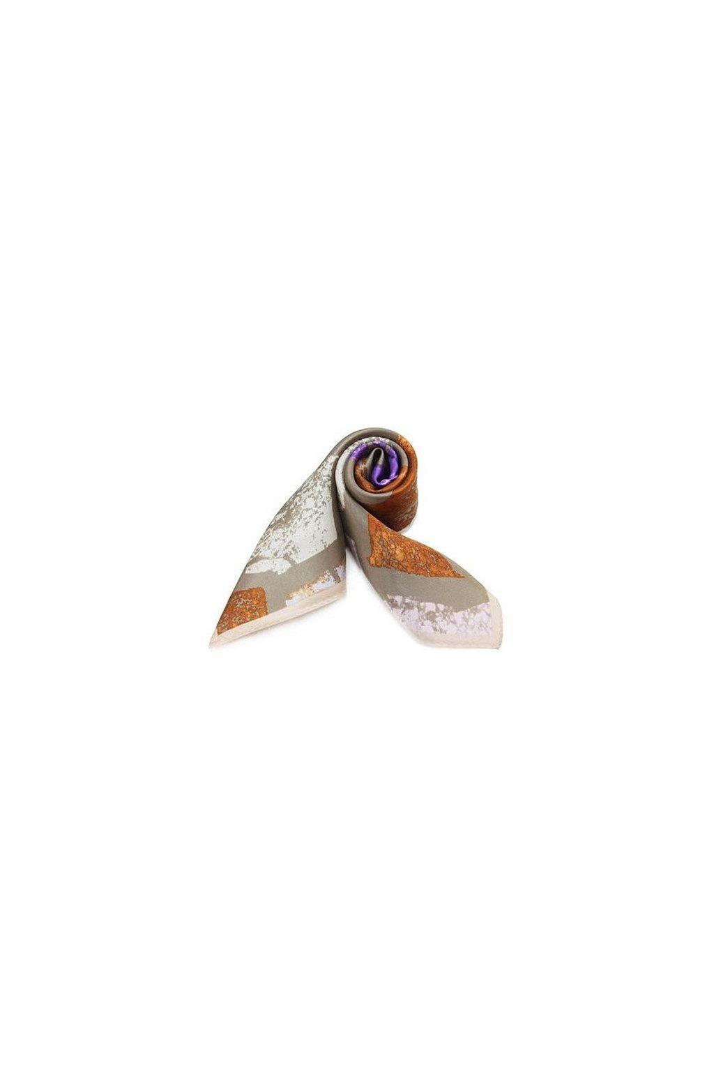 Šátek z hedvábí malý SCM15601