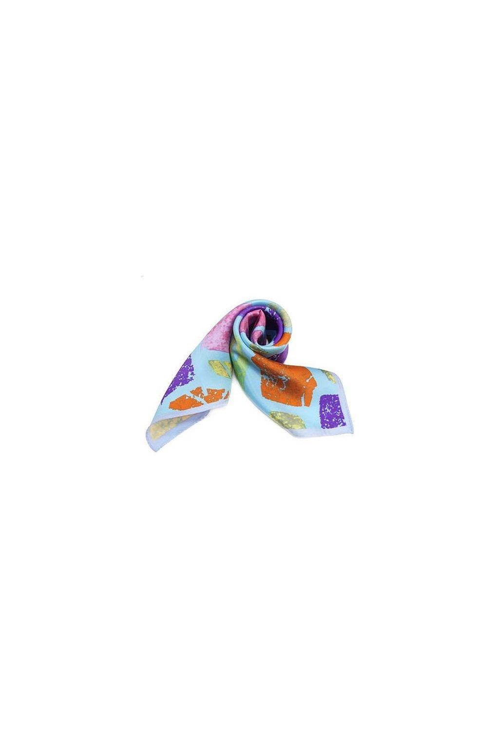 Šátek z hedvábí malý SCM15604