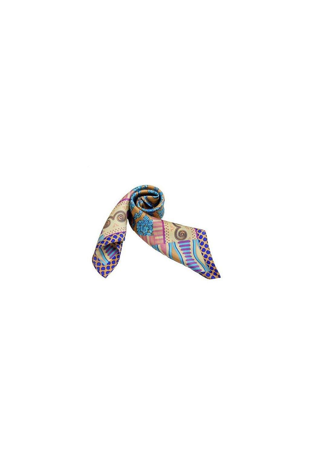Šátek z hedvábí malý SCM15902