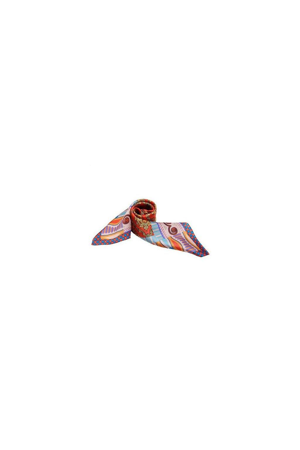 Šátek z hedvábí malý SCM15903