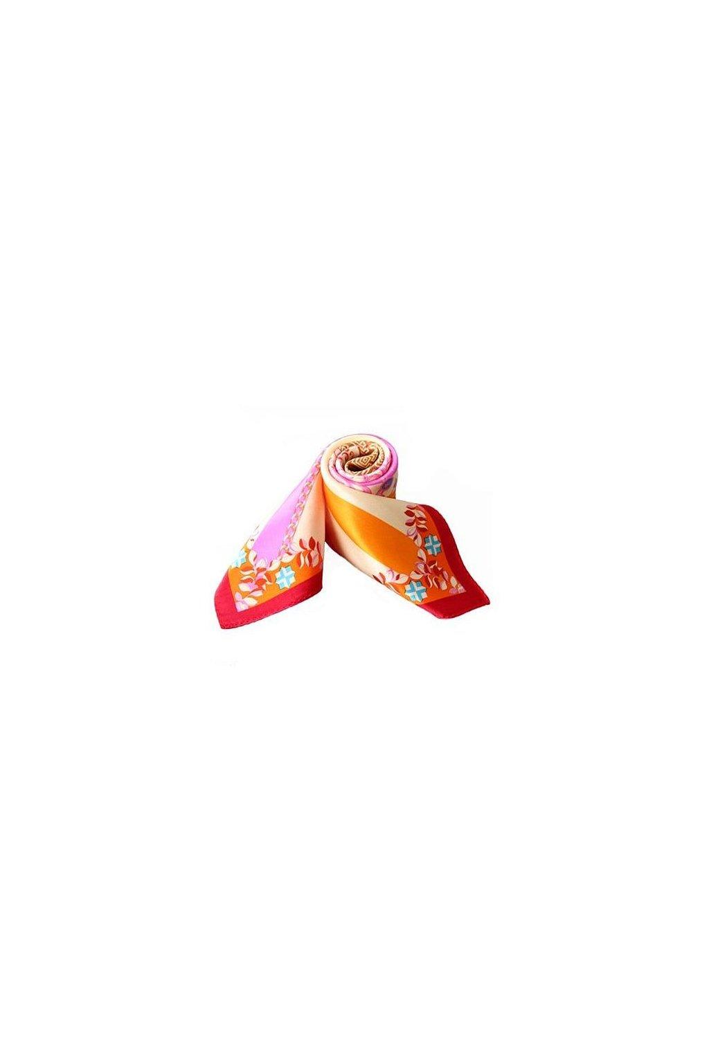 Šátek z hedvábí malý SCM16902