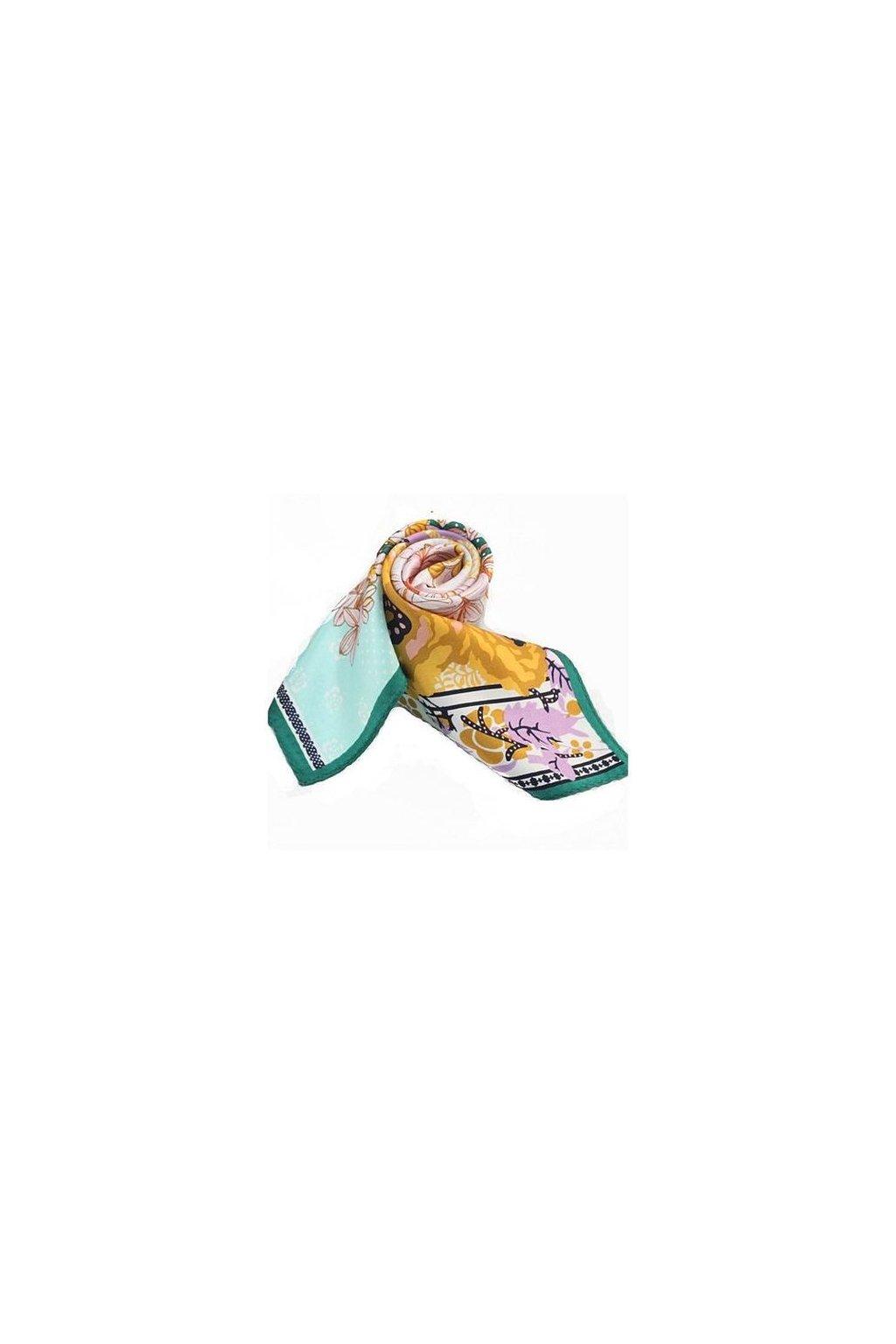 Šátek z hedvábí malý SCM17102