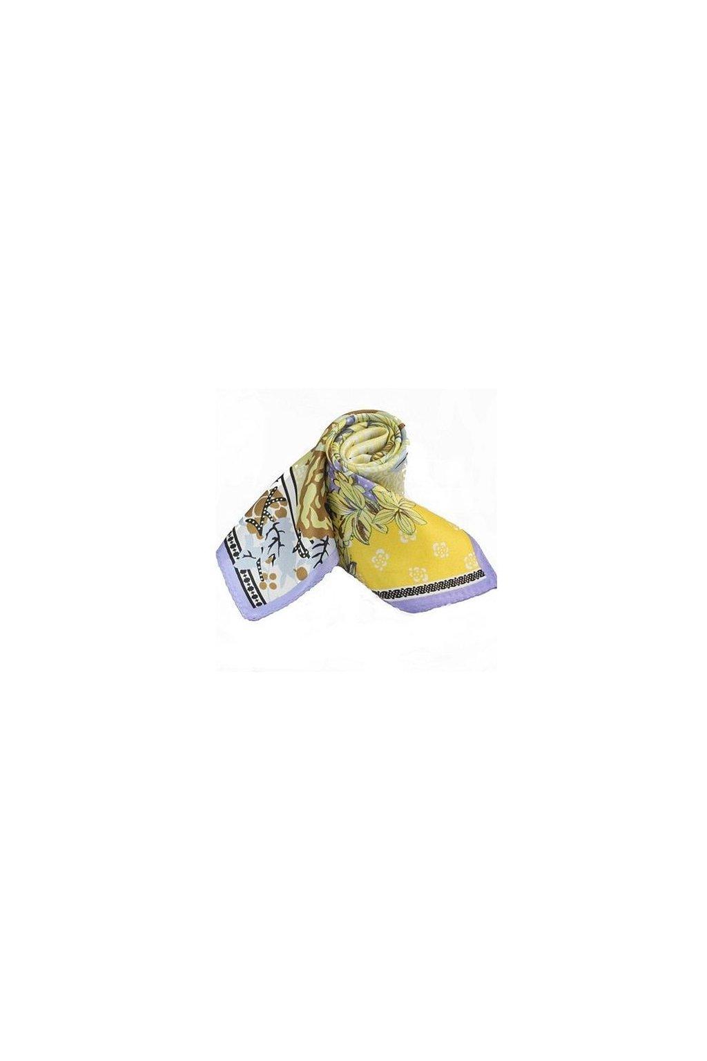 Šátek z hedvábí malý SCM17104