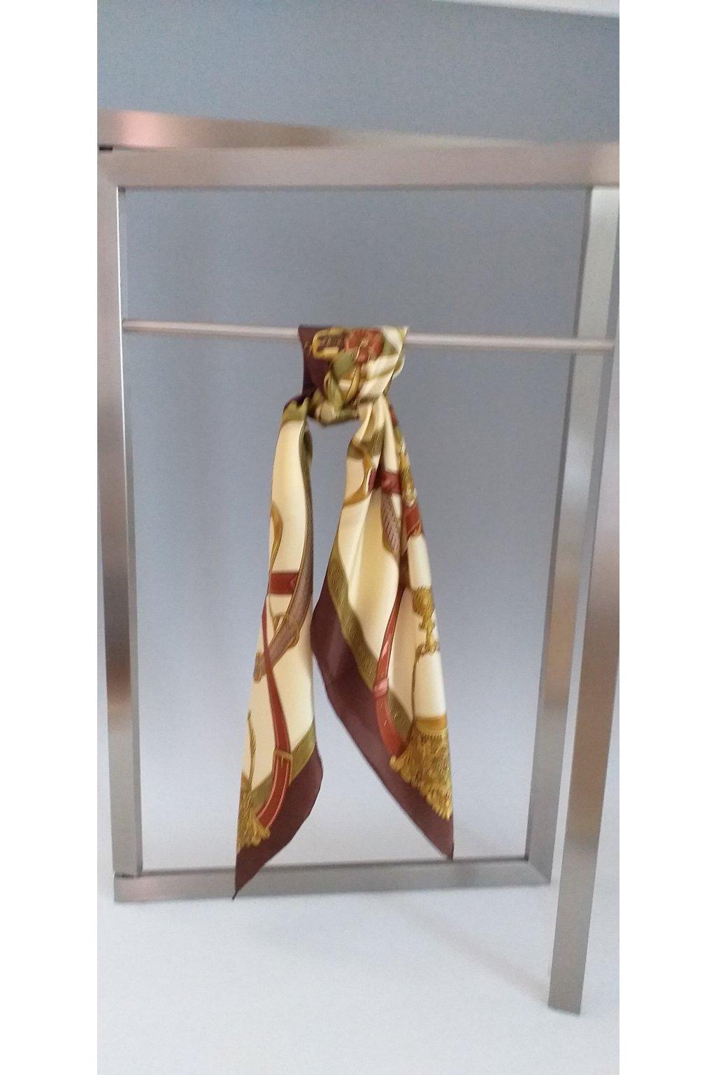 Šátek z hedvábí velký SCV79004