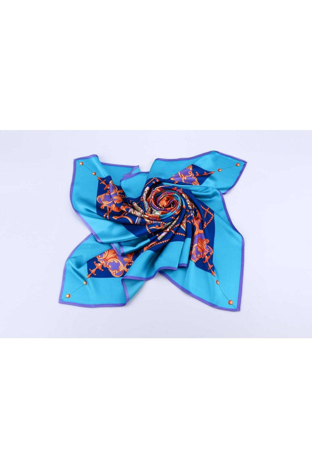Šátek z hedvábí velký SCV06501