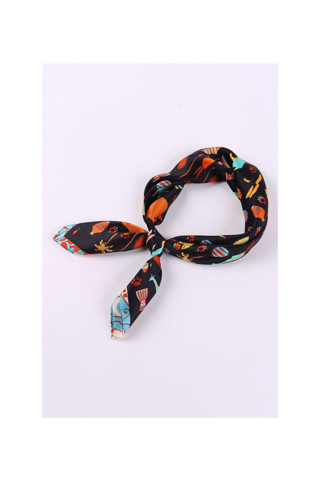 Šátek z hedvábí malý SCM22002