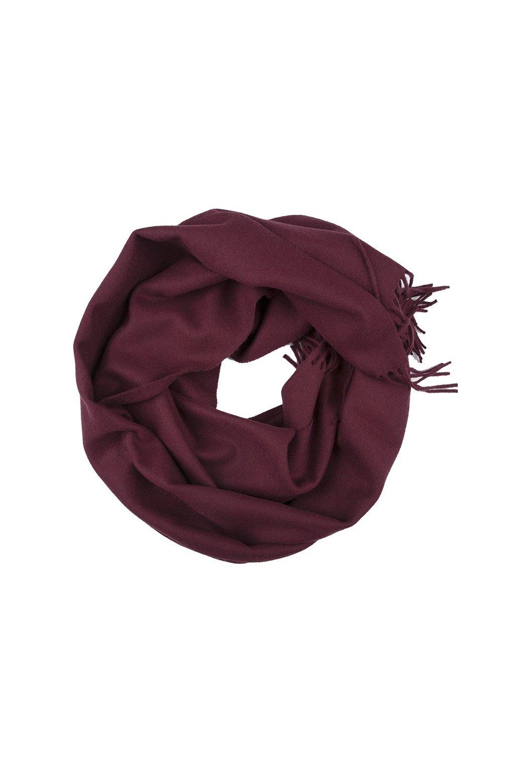IT5013609 Wool light bordeaux