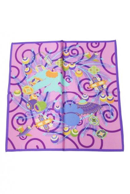 Šátek z hedvábí malý SCM15003