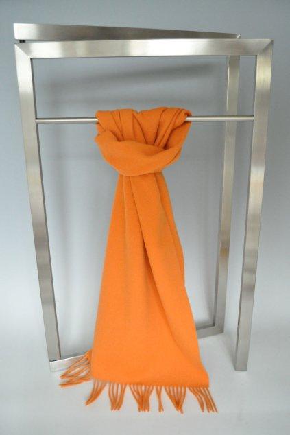 Vlněná šála oranžová IT1362199