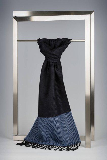 Elegantní modrá šála IT1056