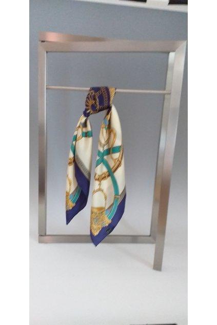Šátek z hedvábí velký SCV79003