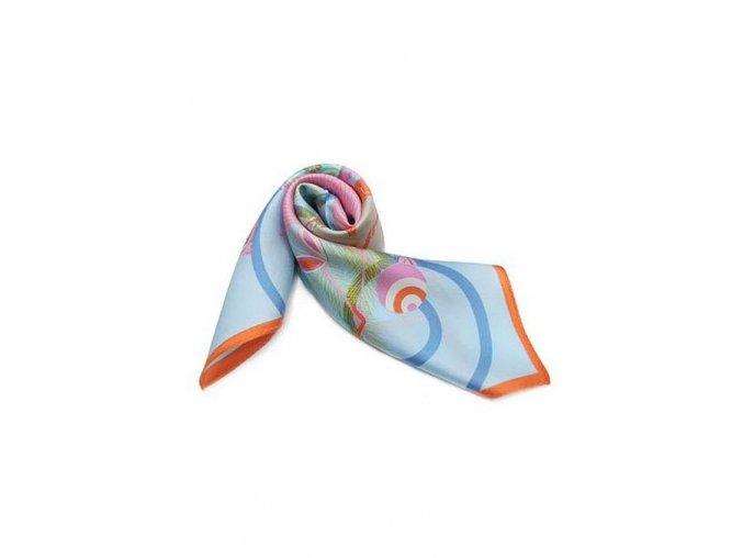 Šátek z hedvábí malý SCM15001