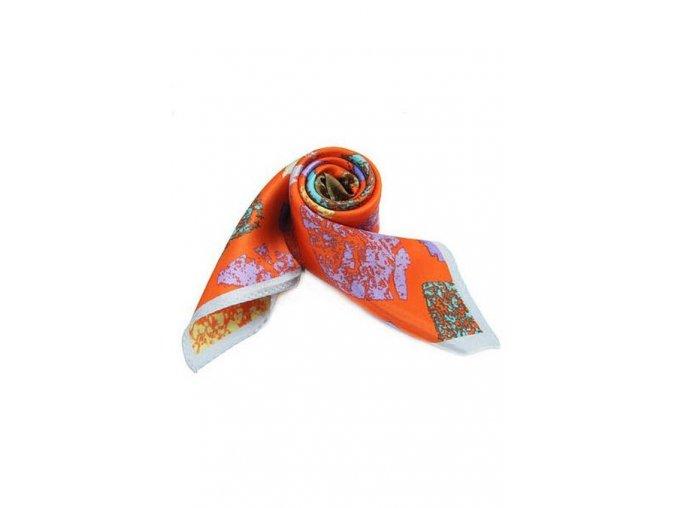 Šátek z hedvábí malý SCM15602