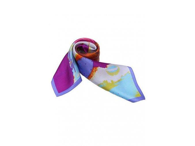 Šátek z hedvábí malý SCM15702