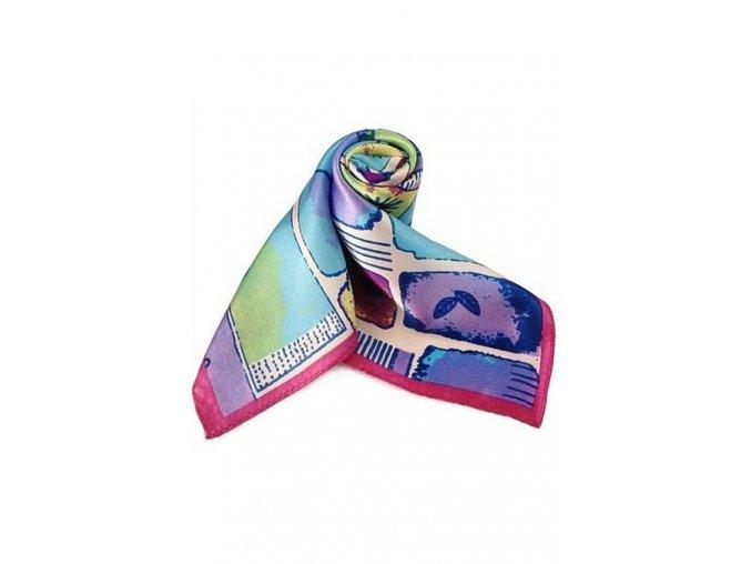Šátek z hedvábí malý SCM15803