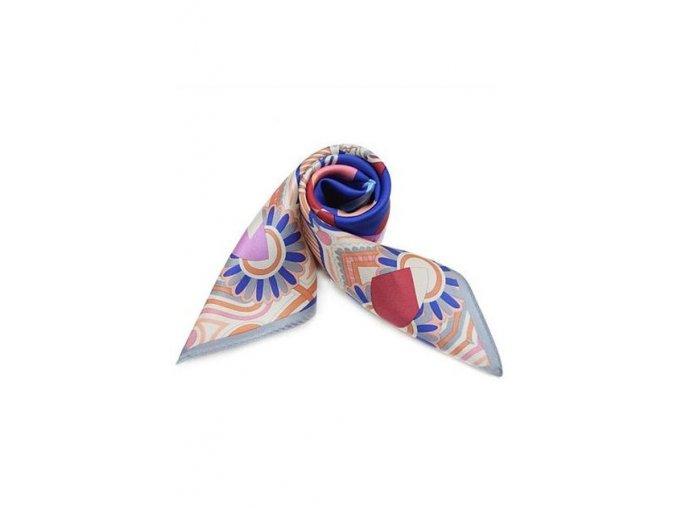 Šátek z hedvábí malý SCM16501