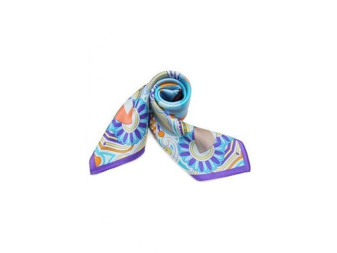 Šátek z hedvábí malý SCM16502