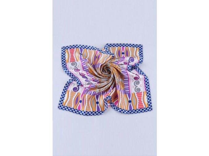 Šátek z hedvábí malý SCM15904