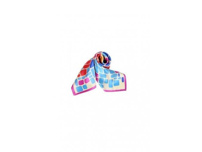 Šátek z hedvábí malý SCM17501