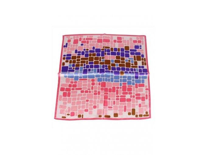 Šátek z hedvábí malý SCM17503