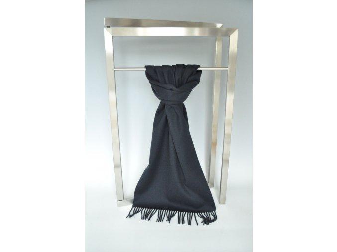 Vlněná šála černá IT1367919
