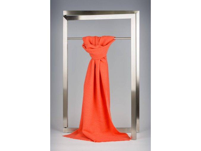 Vlněný šál oranžový IT1791764
