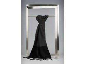 Elegantní černá šála IT1053