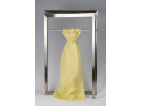 Lněná šála se vzorkem žlutá IT70407