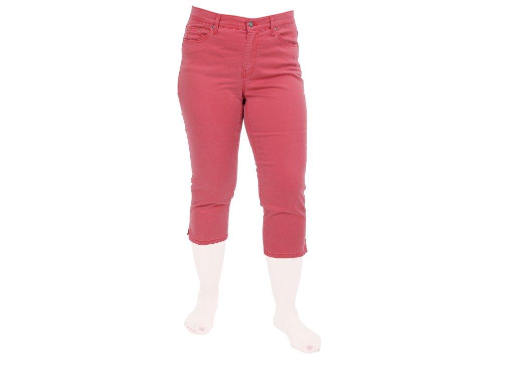 Dámské kalhoty 3/4 cihlově červené Daybreak