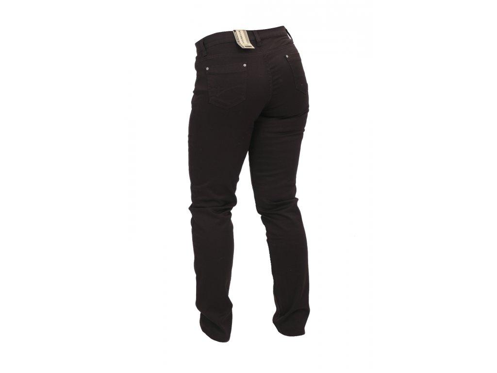 Dámské kalhoty Elegant střihu hnědé Daybreak