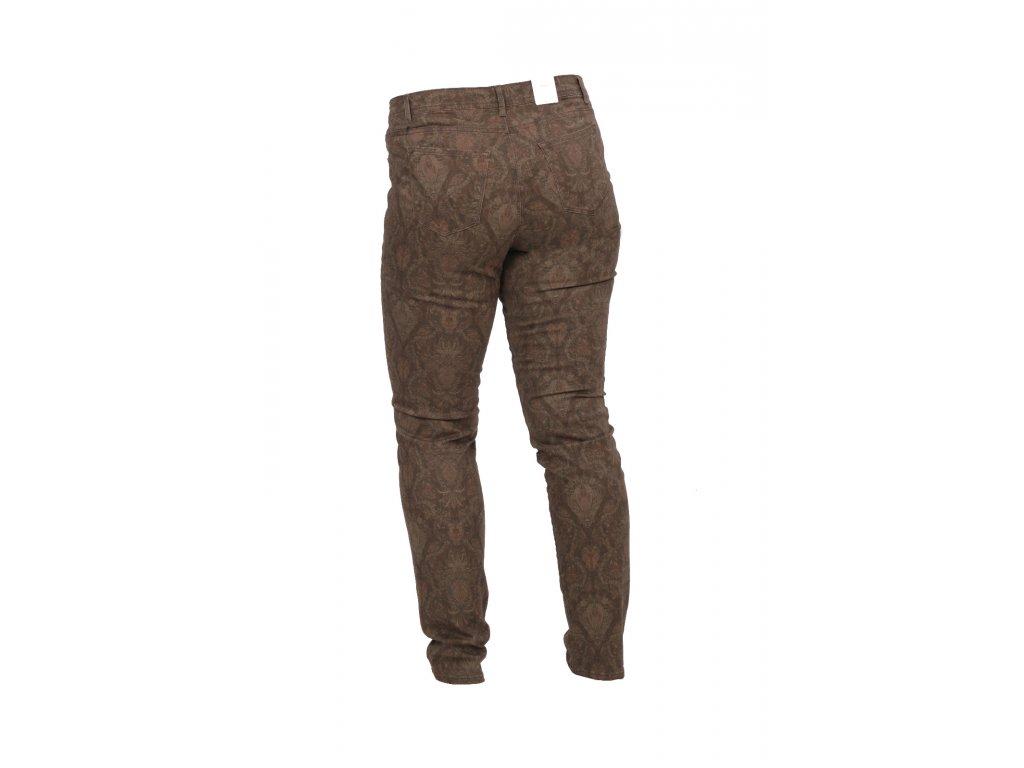 Dámské kalhoty Shakira hnědý vzor zn. Brax