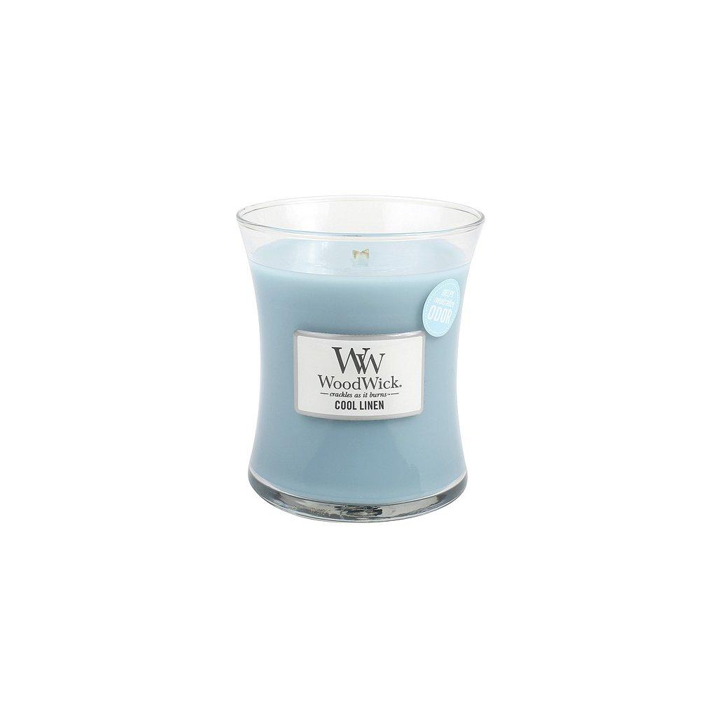 WoodWick - vonná svíčka Svěží prádlo 275g