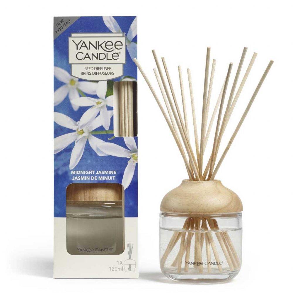 Yankee Candle - aroma difuzér Midnight Jasmine (Půlnoční jasmín) 120 ml