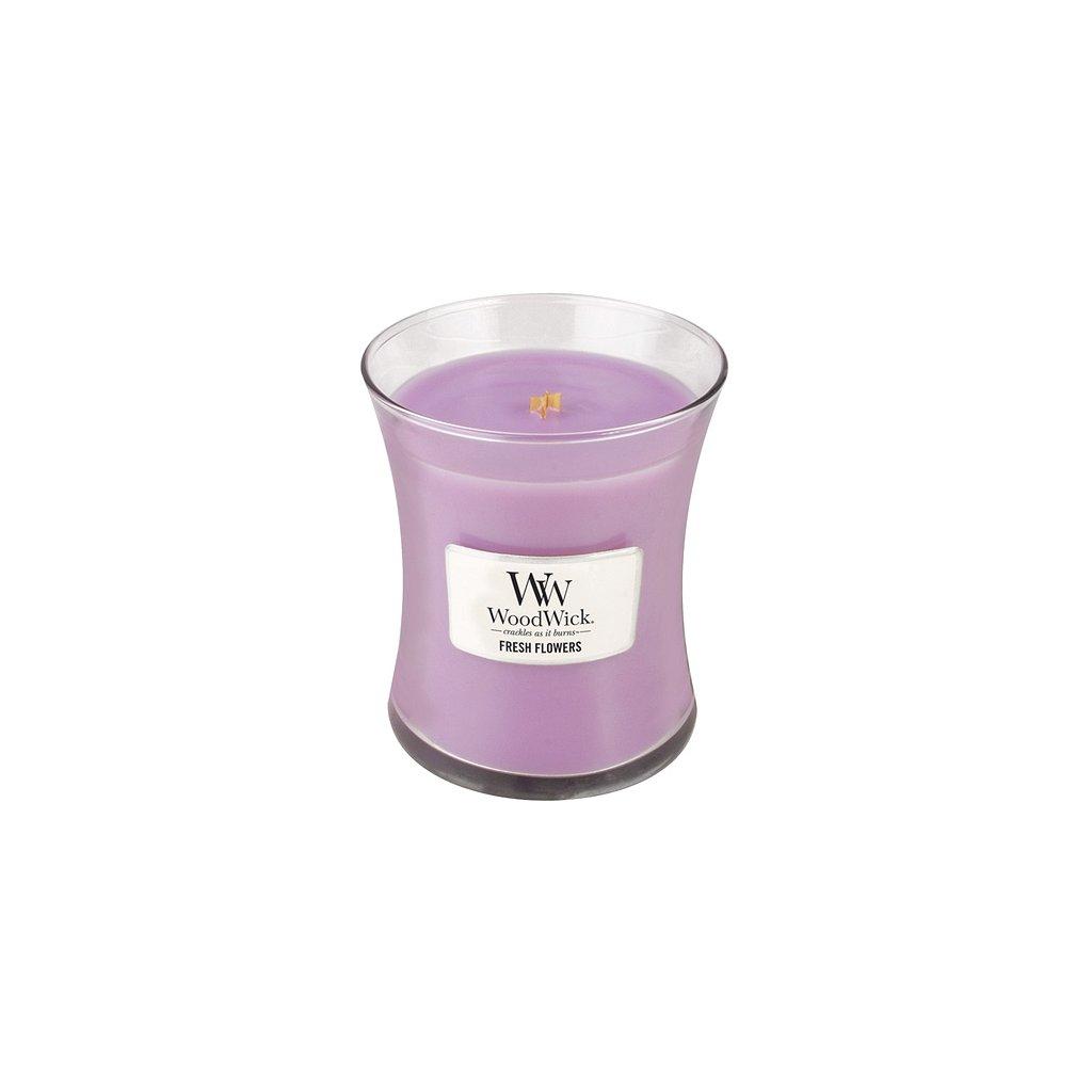 WoodWick - vonná svíčka Čerstvé květiny 275g