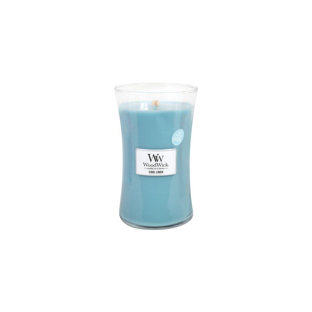 WoodWick - vonná svíčka Svěží prádlo 609g