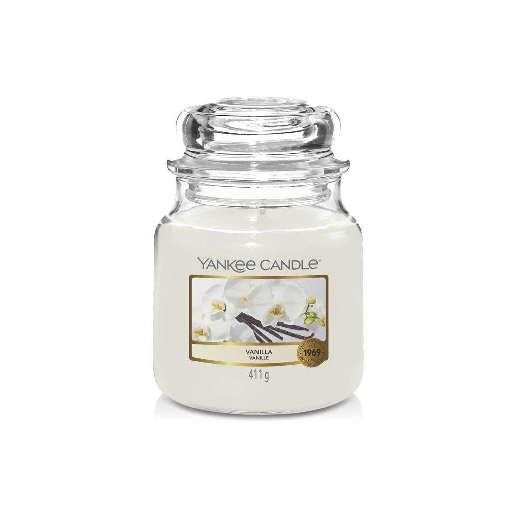 Yankee Candle - vonná svíčka Vanilla 411g