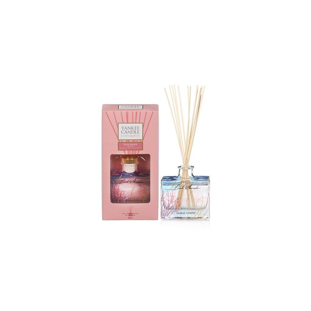 Yankee Candle - aroma difuzér Pink Sands (Růžové písky) 88 ml